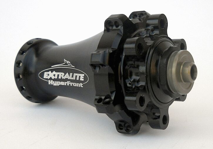 extralite hyperfront lightweight mountain bike hub